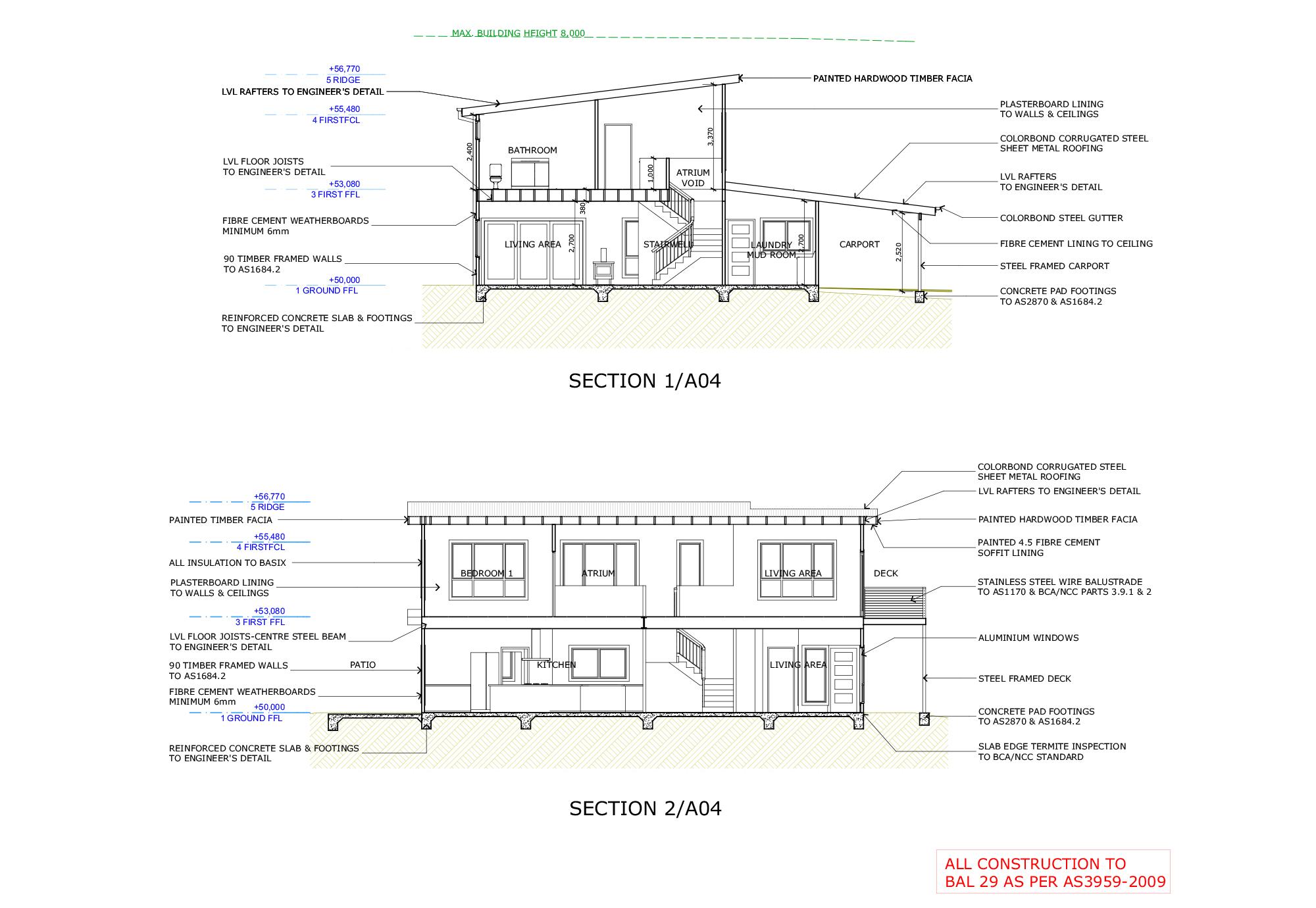 Blue Mountains Building Design - Portfolio Plan 11