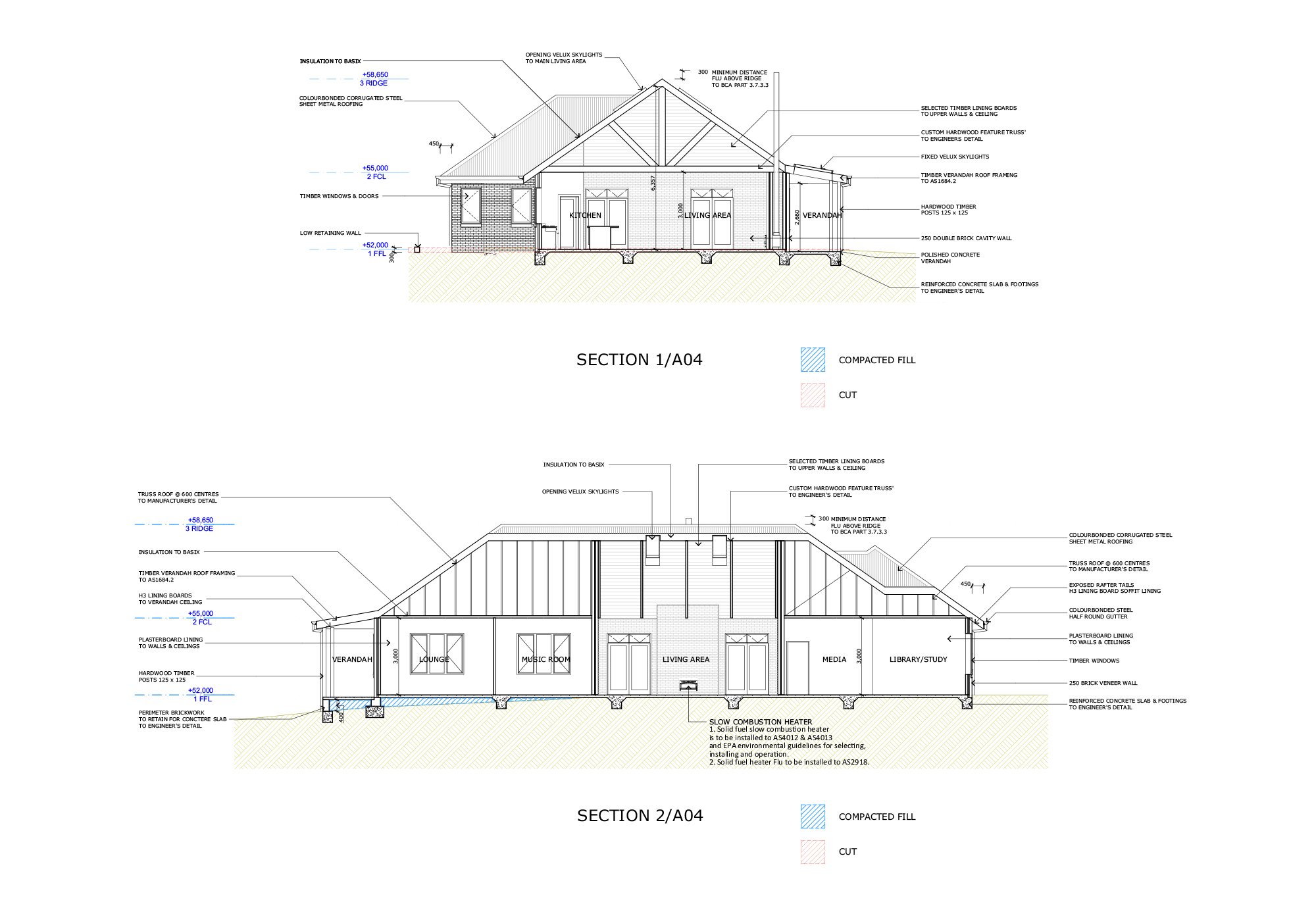 Blue Mountains Building Design - Portfolio Plan 13