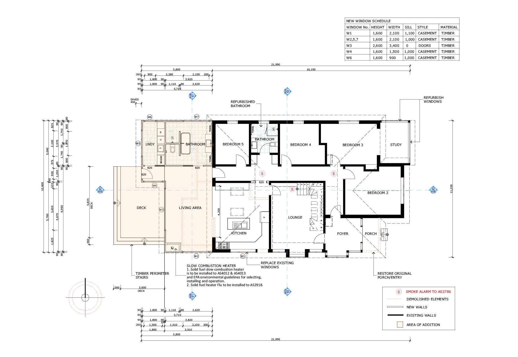 Blue Mountains Building Design - Portfolio Plan 18