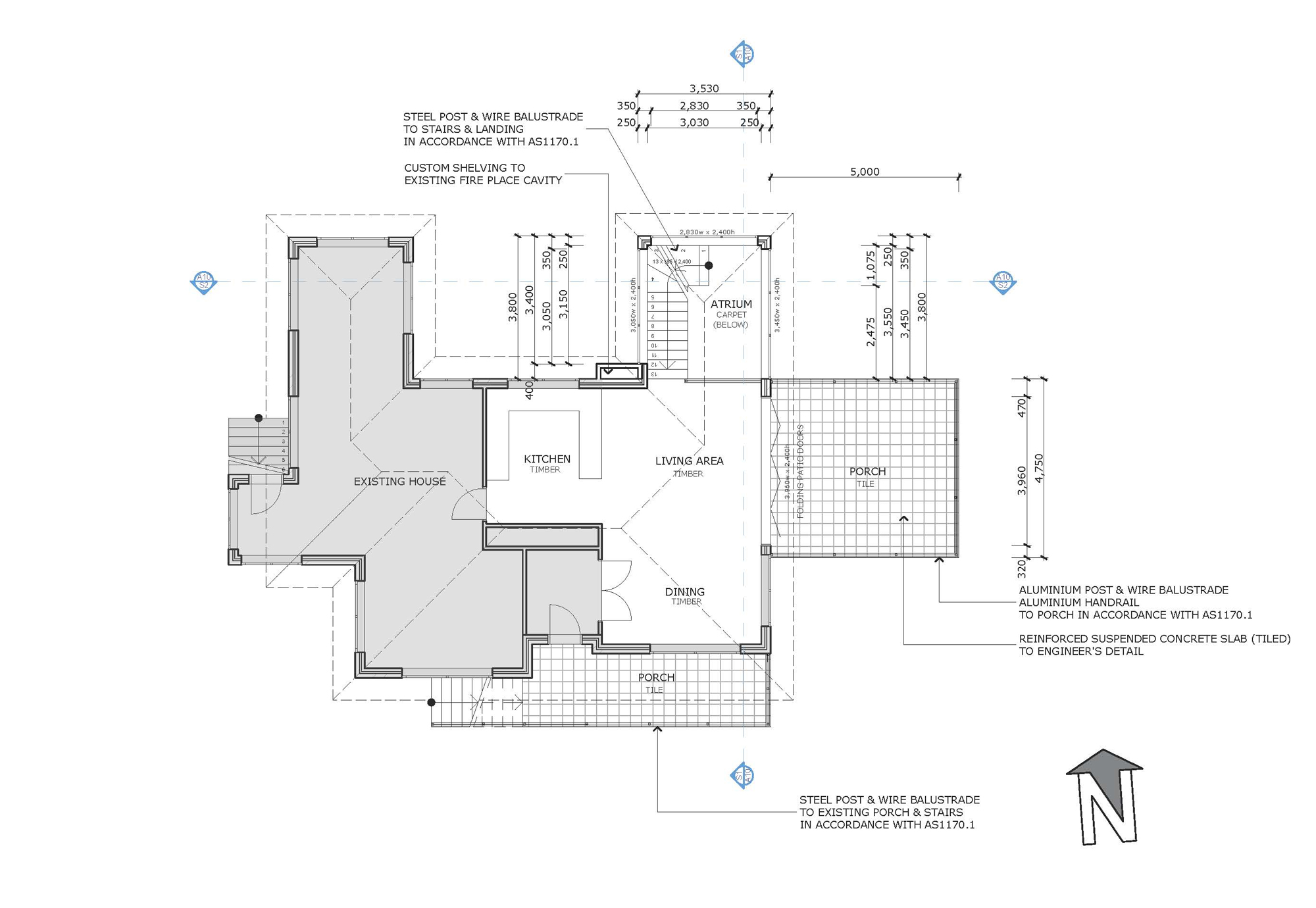 Blue Mountains Building Design - Portfolio Plan 2