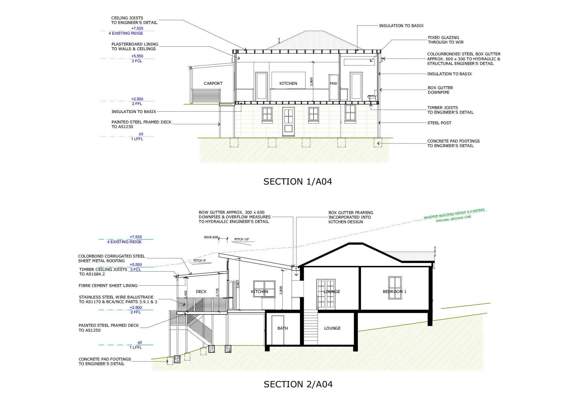 Blue Mountains Building Design Portfolio Plan 31