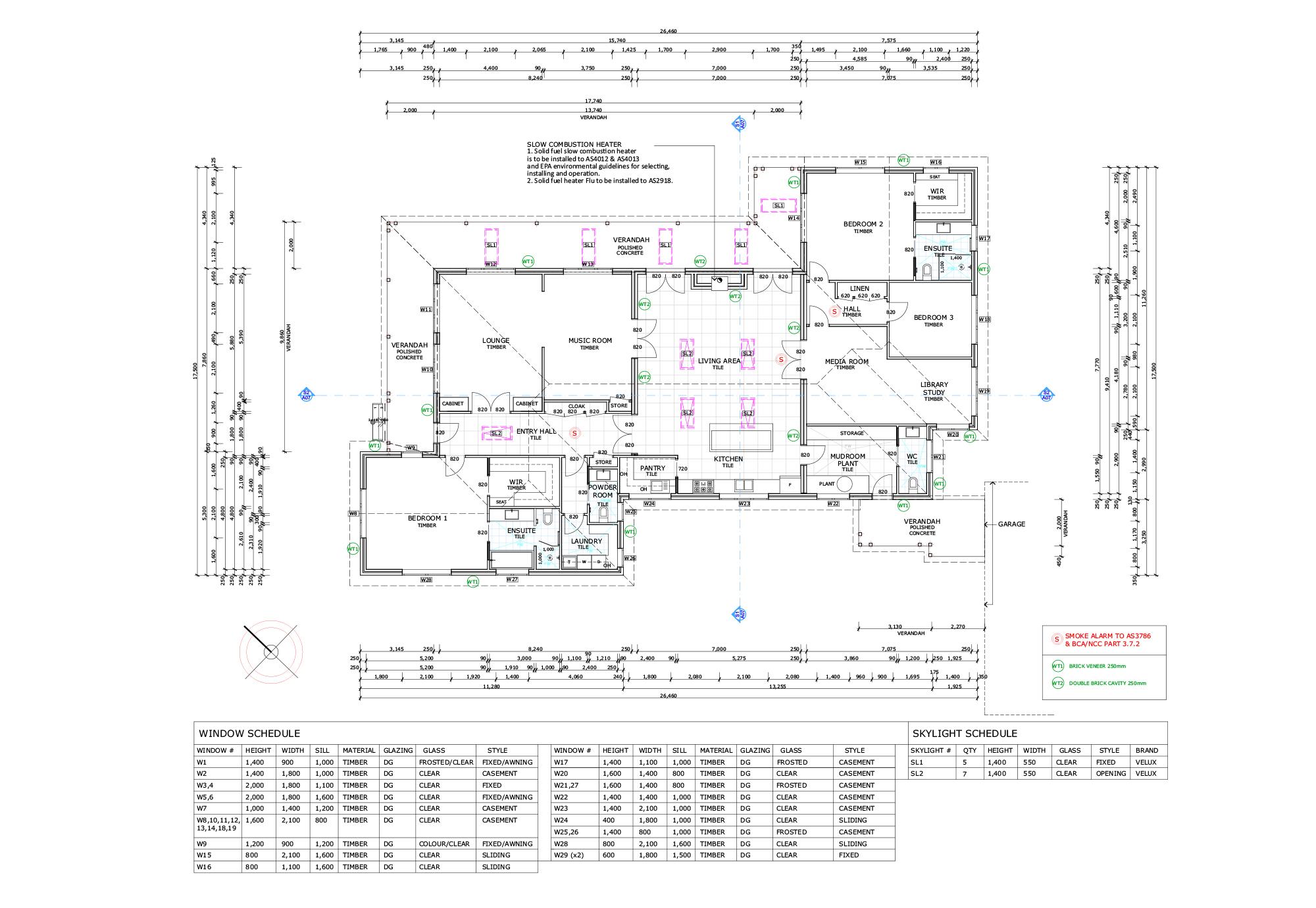 Blue Mountains Building Design - Portfolio Plan 6